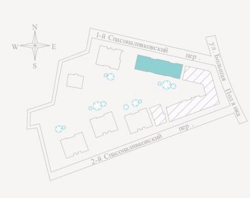 4-х комнатная квартира на 6-ом этаже в ЖК ПОЛЯНКА 44.