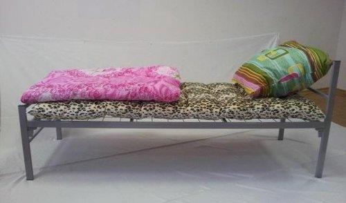 Купить металлическую кровать, кровать с металлическим каркасом, кровать металлическая с матрасом