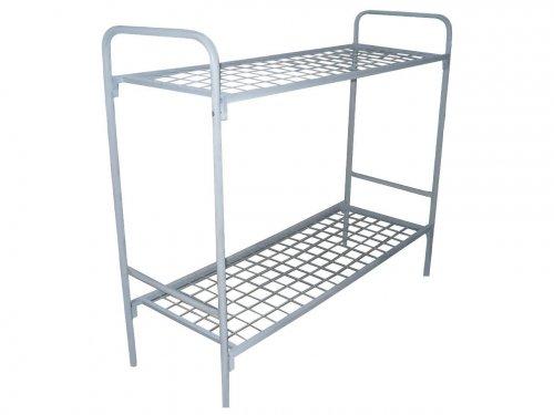 Кровати металлические со спинками различной конфигурации